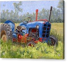 In Da Weeds Acrylic Print by David King