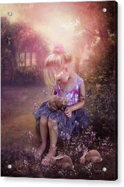 In Fairy Tales Acrylic Print by Cindy Grundsten