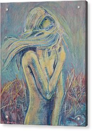 In Fields Acrylic Print by Erik Warn