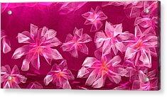 In Flower Acrylic Print