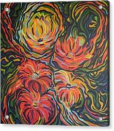 In Full Bloom Acrylic Print by Zofia  Kijak