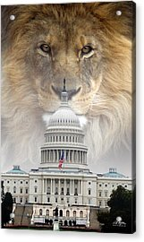 In God We Trust Acrylic Print by Bill Stephens