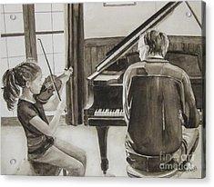 In Harmony Acrylic Print by Carol Flagg