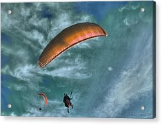 Acrylic Print featuring the photograph In Heaven by Julis Simo