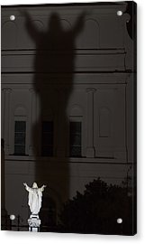 In His Shadow Acrylic Print