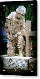 In Honor Of The Wounded Warrior Acrylic Print