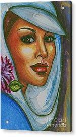 Acrylic Print featuring the mixed media In Living Color by Alga Washington