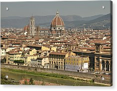 In Love With Firenze - 2 Acrylic Print