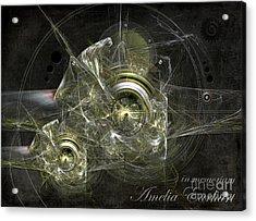 In Memoriam Amelia Earhart Acrylic Print
