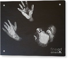 Acrylic Print featuring the painting In Memory Of My Father by Stuart Engel
