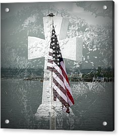 In Memory Of Those Who Died On 9-1-1 Acrylic Print