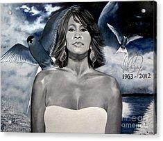 In Memory Of...whitney Houston Acrylic Print
