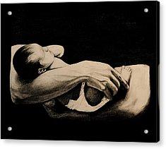 In My Arms Acrylic Print by Caroline  Reid