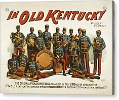 In Old Kentucky Acrylic Print by Aged Pixel