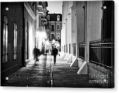 In Pirates Alley Acrylic Print by John Rizzuto