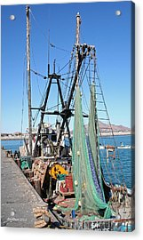 Acrylic Print featuring the photograph In Port by Dick Botkin