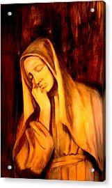 In Prayer Acrylic Print