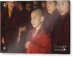 Acrylic Print featuring the digital art In Prayer Time by Angelika Drake