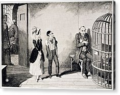 In Prison Acrylic Print by British Library