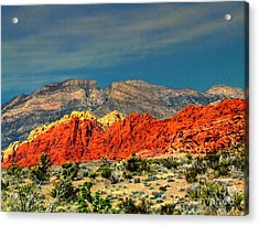 In Red Mountain 1 Acrylic Print