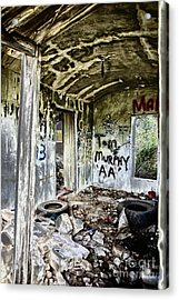In Ruins Acrylic Print