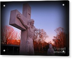 In Sacrifice Is Peace Acrylic Print by John Malone