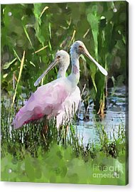 Acrylic Print featuring the photograph In The Bayou #2 by Betty LaRue