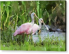 Acrylic Print featuring the photograph In The Bayou #3 by Betty LaRue