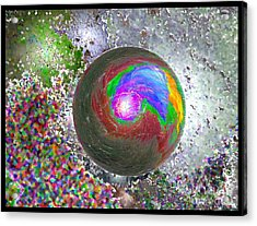 In The Beginning 2nd Generation Acrylic Print by Glenn McCarthy Art and Photography