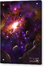 In The Beginning... Acrylic Print by Tamer and Cindy Elsharouni