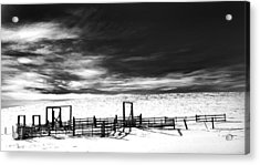 In The Bleak Midwinter Acrylic Print by Theresa Tahara