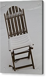 In The Cold Acrylic Print