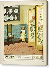 In The Corner Acrylic Print by British Library
