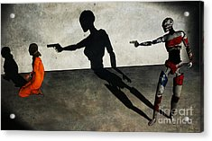 In The Crosshair Of A Nation Acrylic Print