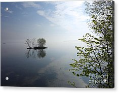 In The Distance On Mille Lacs Lake In Garrison Minnesota Acrylic Print