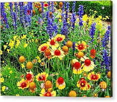In The Garden Acrylic Print