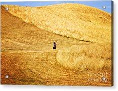 In The Hills Acrylic Print by Scott Pellegrin
