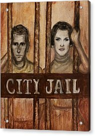In The Jailhouse Now Acrylic Print
