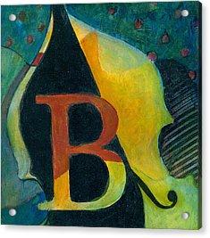 In The Key Of B Acrylic Print