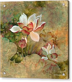 In The Lotus Land Acrylic Print