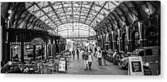 In The Market  Acrylic Print by Steven  Taylor