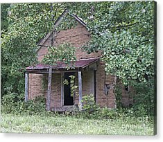 In The Middle Of Nowhere Acrylic Print by Ann Horn