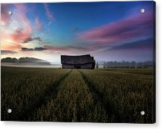 In The Middle Of The Day. Acrylic Print