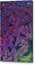 Acrylic Print featuring the painting In The Mind's Eye by Jacqueline McReynolds