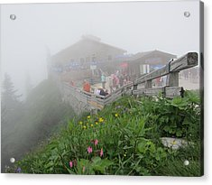 Acrylic Print featuring the photograph In The Mist by Pema Hou