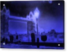 In The Moonlight Acrylic Print by Steve K