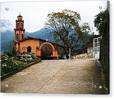 Acrylic Print featuring the photograph In The Mountains Of Mexico by Joy Nichols