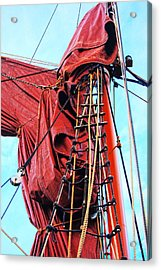In The Rigging Acrylic Print
