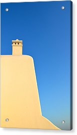 Greek Geometry Acrylic Print by Corinne Rhode