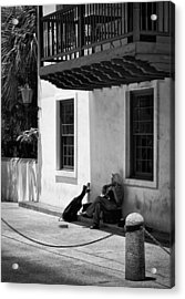 Acrylic Print featuring the photograph In The Shade by Greg Jackson